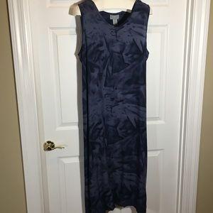 Jane Ashley Woman Blue Maxi Dress Size 2X